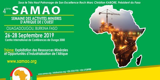 4th SAMAO, West African Mining Activities Week