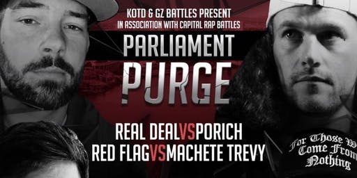 KOTD, GZ Battles & CRB Present: Parliament Purge