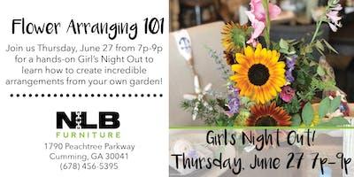 GNO: Flower Arranging 101