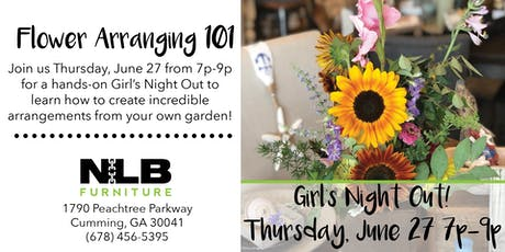 GNO: Flower Arranging 101 tickets