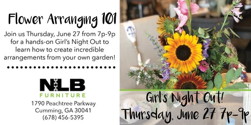 GNO: Flower Arranging 101