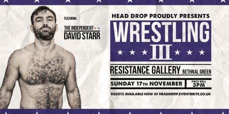 Head Drop 3 - Live Pro Wrestling tickets