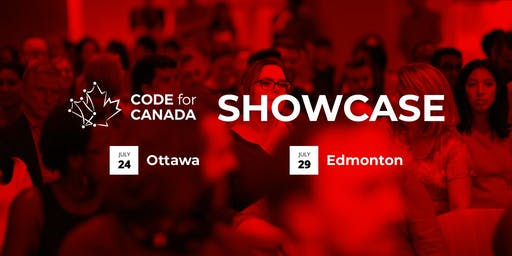 The 2019 Code for Canada Showcase (Edmonton)