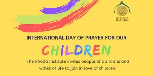 International Day of Prayer for Our Children