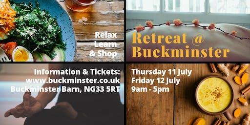 Retreat @ Buckminster - Friday 12 July