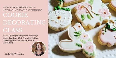 Cookie Decorating with Anomaly's Custom Sweets! tickets