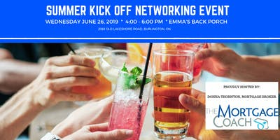 Summer Kick Off Networking Event