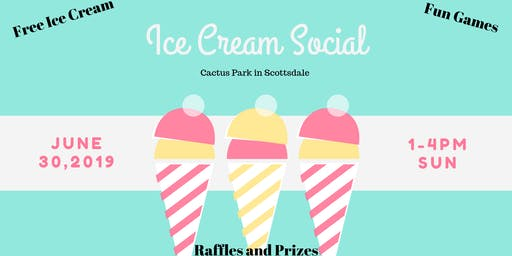 Ice Cream Social Community Event
