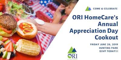 ORI HomeCare's Annual Appreciation Day Cookout