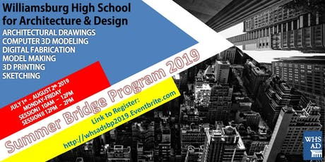 WHSAD Summer Bridge Program 2019 tickets