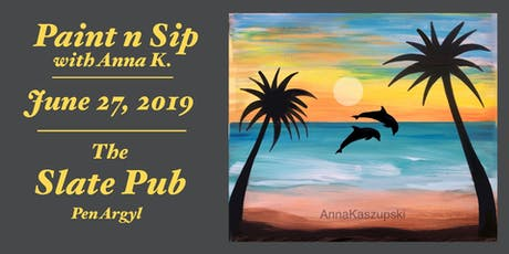 Paint n Sip- Palm Tree Paradise tickets