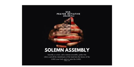 State Solemn Assembly Community Prayer Event
