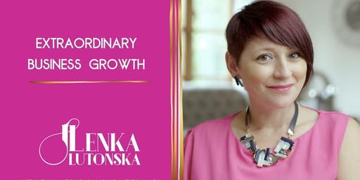 IMN Cardiff hosts - Lenka Lutonska - Skyrocket your sales revenues