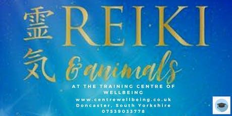 Animal Reiki Practitioner Training tickets