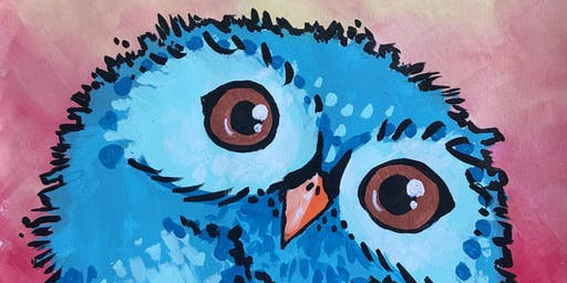 Creative Critters on Canvas- Painting Class for Kids