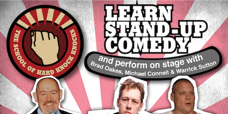 Melbourne: Learn Stand-up Comedy - Evenings: October 20 - 24, 2019 tickets