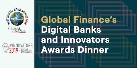 Global Finance's 2019 Digital Banks and Innovators Awards Dinner - New York City tickets