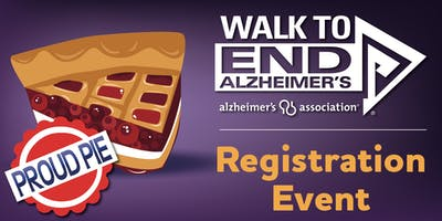 Walk to End Alzheimer's Registration Event at Proud Pie