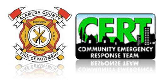 Alameda County Fire Department's Community Emergency Response Team basic Training in Union City
