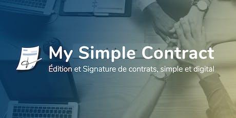 Invitation Petit Déjeuner Presse : nouveau service de contrats numériques billets