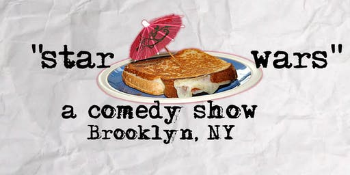 Stars Wars: A Comedy Show with comics from Comedy Central