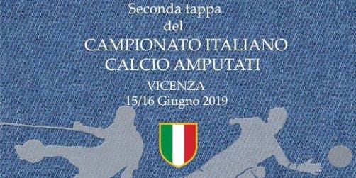 Seconda tappa del Campionato Italiano Calcio Amputati