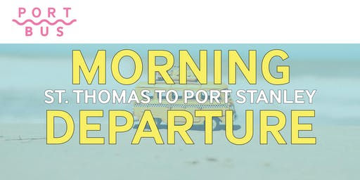 St. Thomas to Port Stanley -- 10am-4pm (roundtrip)