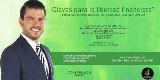 "Conferencia ""Claves para la Libertad Financiera"""