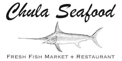 Chula Seafood Dinner with Chef Juan Zamora & Chef Kyle Kent