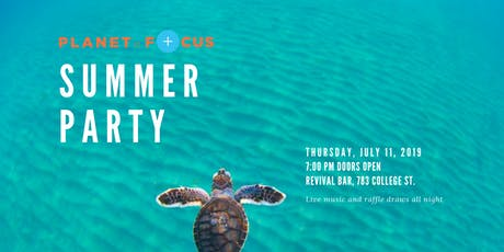 Planet in Focus 20th Anniversary Summer Party tickets
