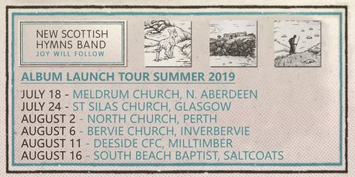 New Scottish Hymns Band | JOY WILL FOLLOW tour (SALTCOATS)