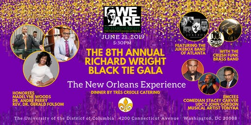 Richard Wright Black Tie Gala 2019 - The New Orleans Experience