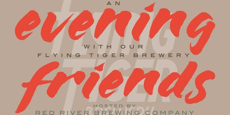 An Evening with our Flying Tiger Friends tickets