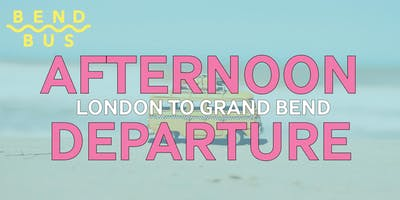 London to Grand Bend -- 2:30pm-9:30pm (roundtrip)