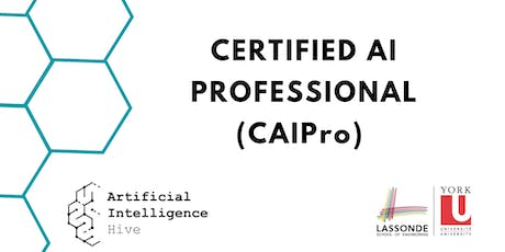 Certified AI Professional (CAIPro) Program tickets
