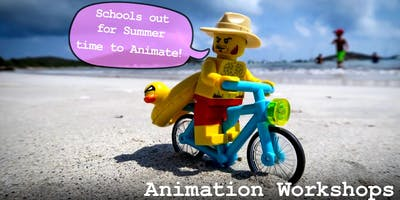 Stop Motion Animation Workshops in July - 7 to 9 year olds