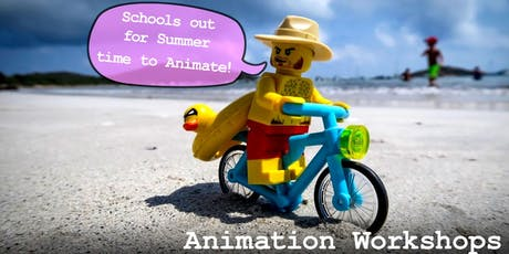 Stop Motion Animation Workshops in July - 7 to 9 year olds tickets