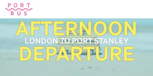 London to Port Stanley -- 2:30pm-9:30pm (roundtrip)