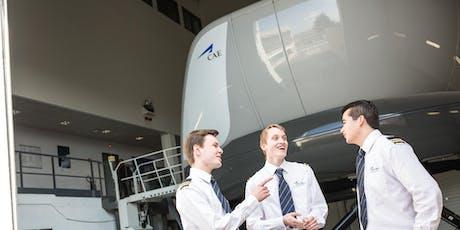 CAE Pilot Career Day - Brussels billets