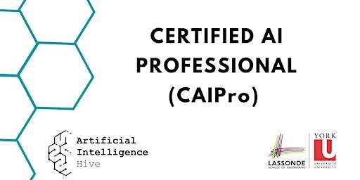 Certified AI Professional (CAIPro) Program