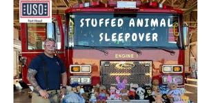 USO Fort Hood Stuffed Animal Sleepover