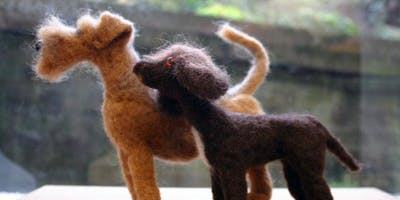 Little Needle Felted Cats and Dogs