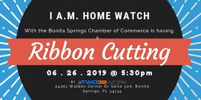 I A.M. Home Watch Ribbon Cutting