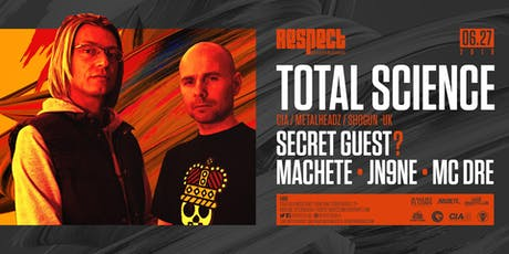 TOTAL SCIENCE + SECRET GUEST tickets