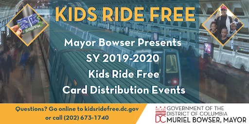 Cancelled: Kids Ride Free Card Distribution- July 27