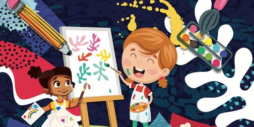 Family Arts Workshop: Little Creatives at Worksop Library, 11.45am