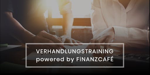 Verhandlungstraining powered by FiNANZCAFÉ