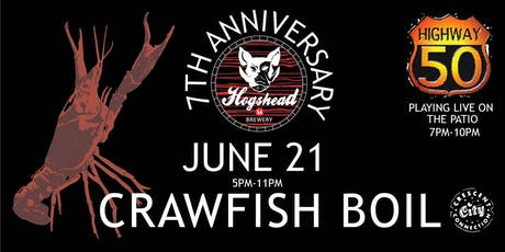 Hogshead Brewery Crawfish Boil tickets