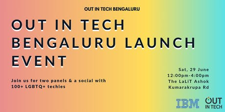 Out in Tech Bengaluru | Launch Event  tickets
