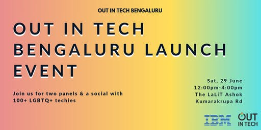 Out in Tech Bengaluru | Launch Event